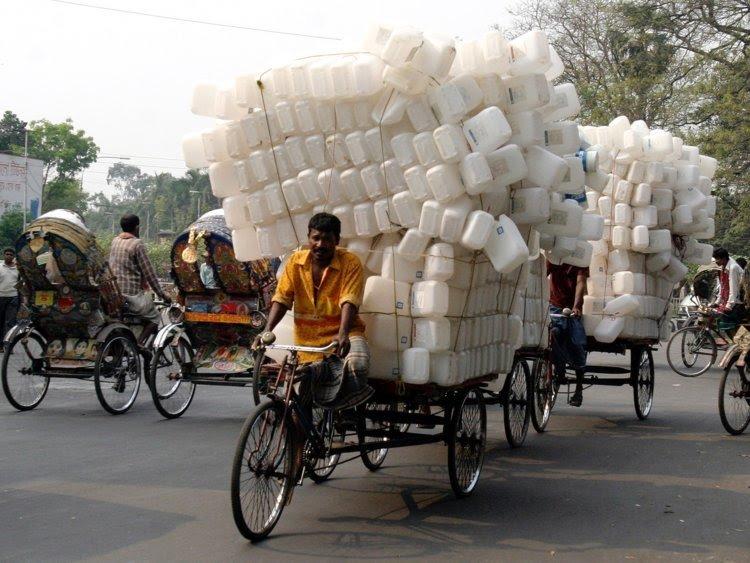 Город Дакка рикши