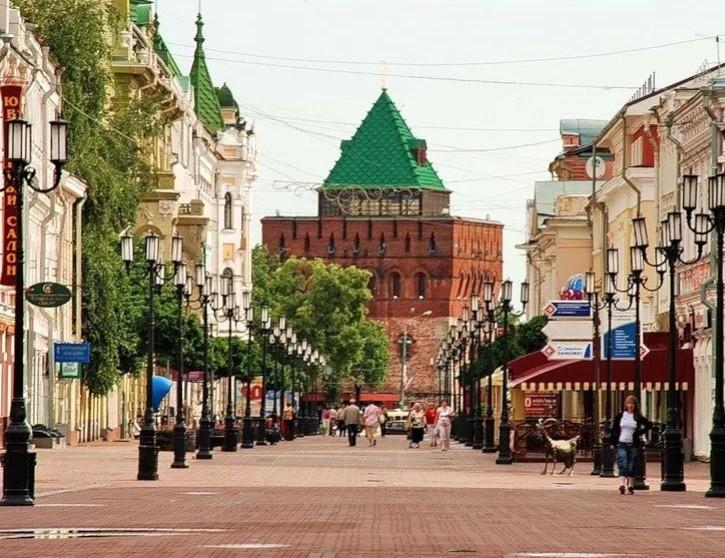 Покровка в Нижнем Новгороде