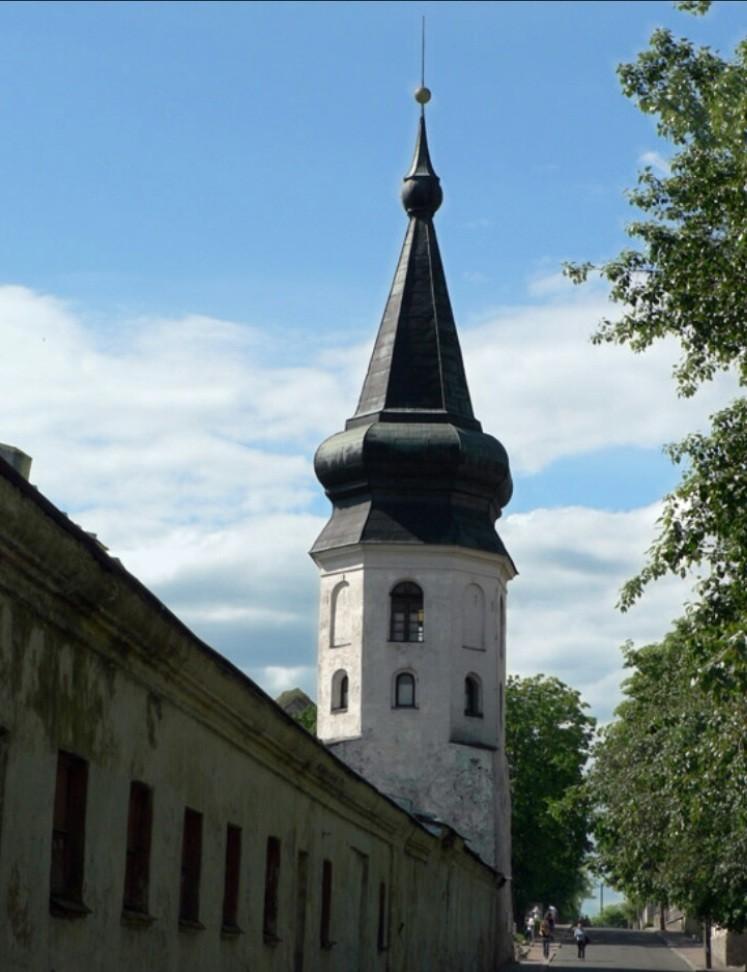 Башня ратуши в Выборге