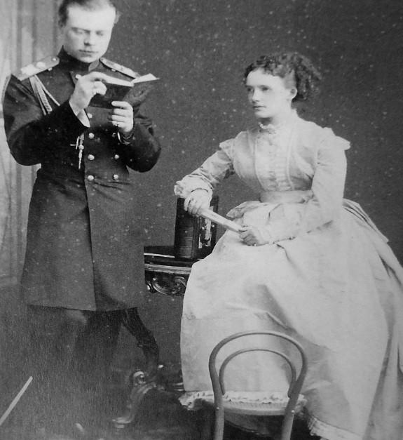 Александр и Евгения Ольденбургские