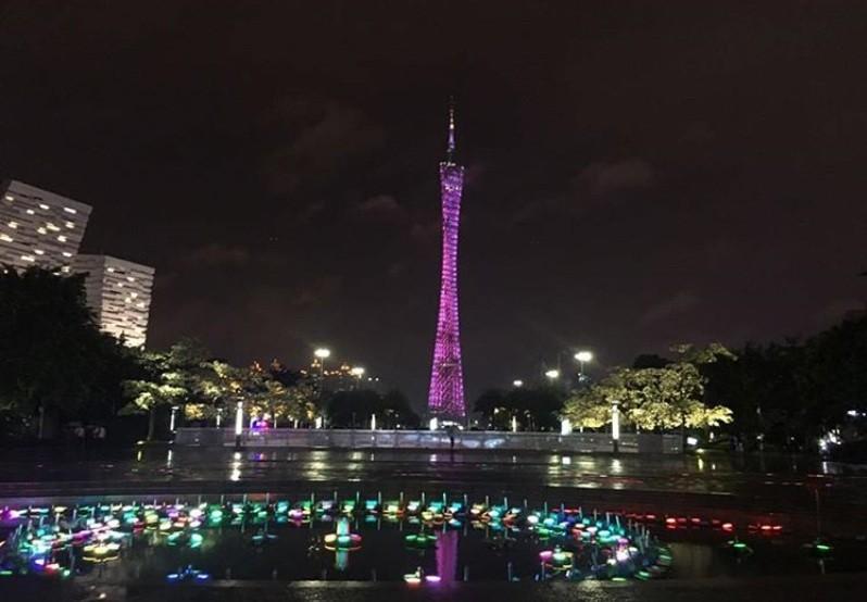 Телебашня в Гуанчжоу