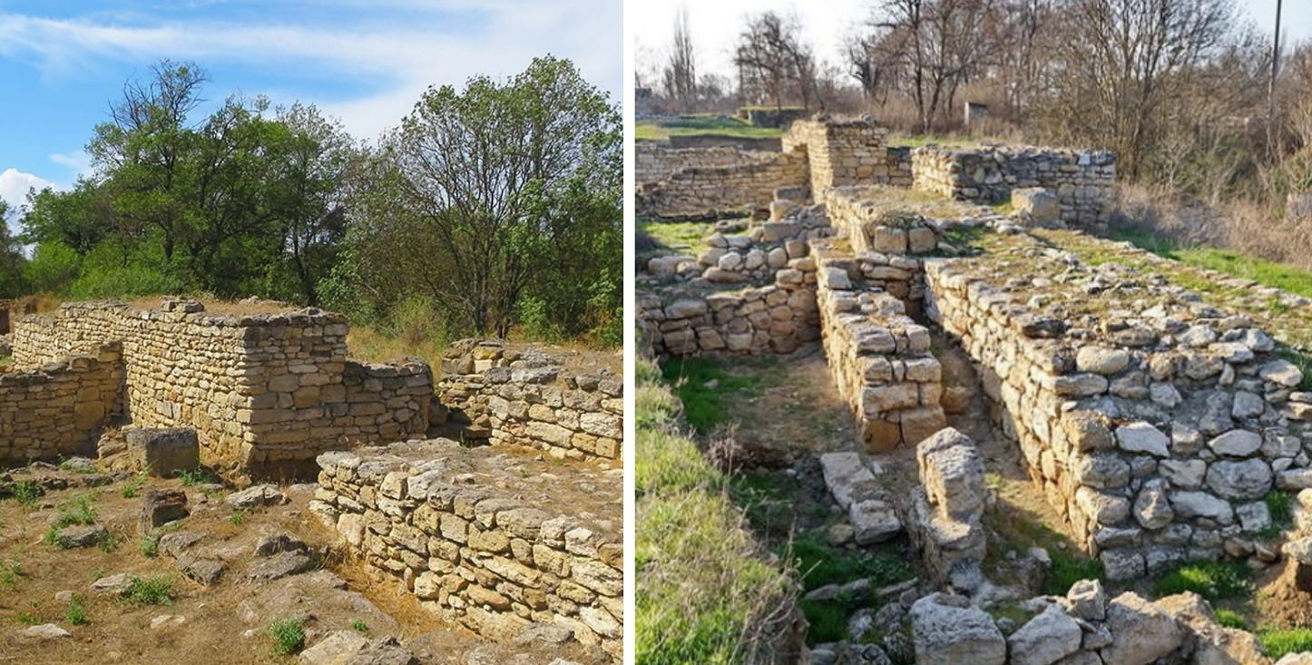 Античное городищеТиритака