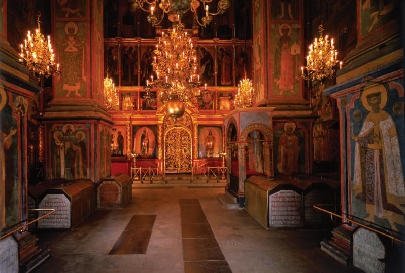 Архангельский собор в Московском Кремле